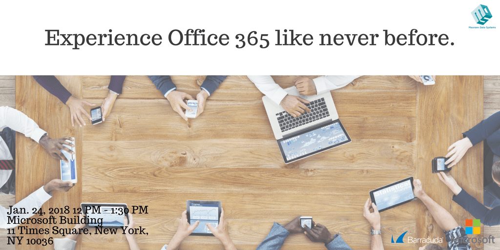 Be brilliant in 2018 – experience O365 like never before!