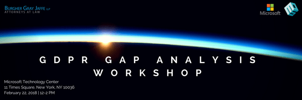 Don't Wait Until It's Too Late to Comply: GDPR Gap Analysis Workshop