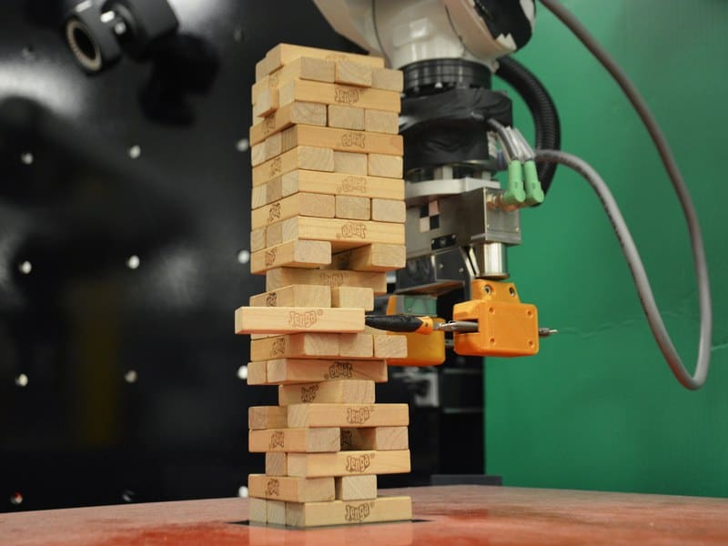 A Robot Teaches Itself to Play Jenga. But It's No Game.