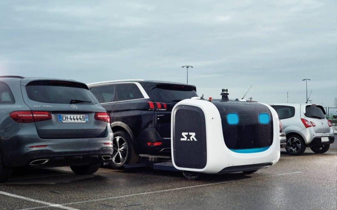 This robot valet will soon be parking your car at the airport
