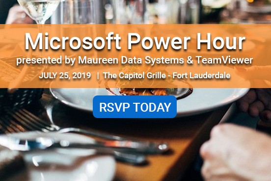 Microsoft Power Hour presented by Maureen Data Systems & TeamViewer